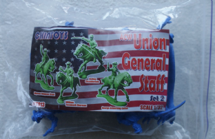 Chin Toys 1/32 CT013 Union General Staff Set 2 (ACW)